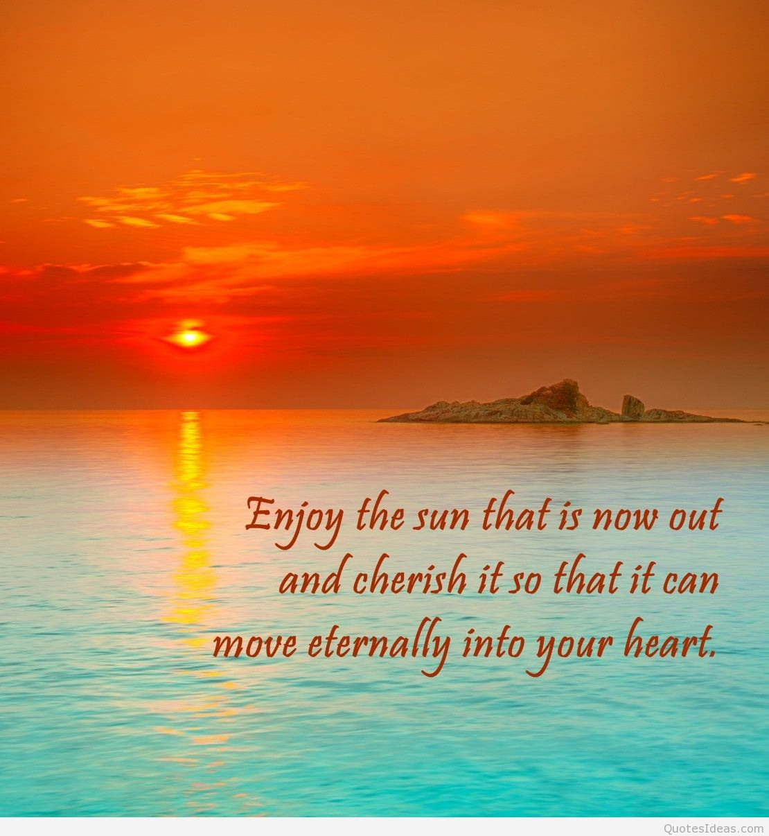 Inspirational Quotes On Sunrise Summer Holidays Quotes Sayings On Images