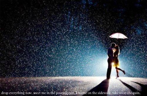 Love Images Kiss Me In The Pouring Rain Wallpaper And Background P Os