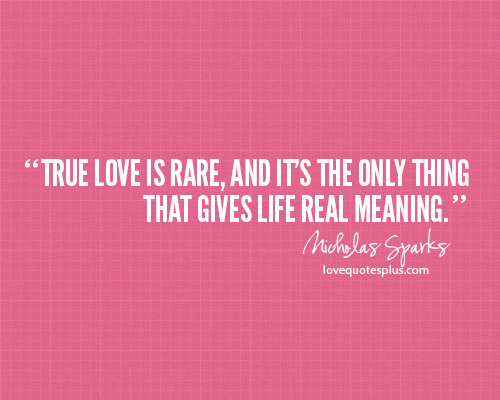 Quote True Love And Cute Image