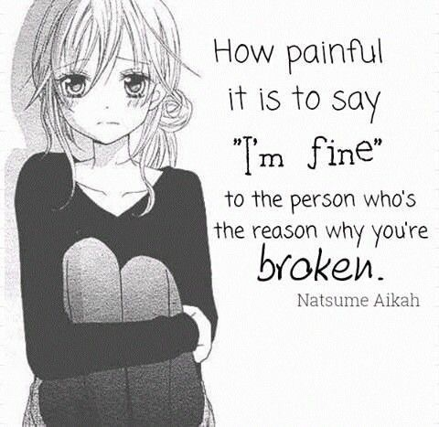 Anime Broken And Fine Image