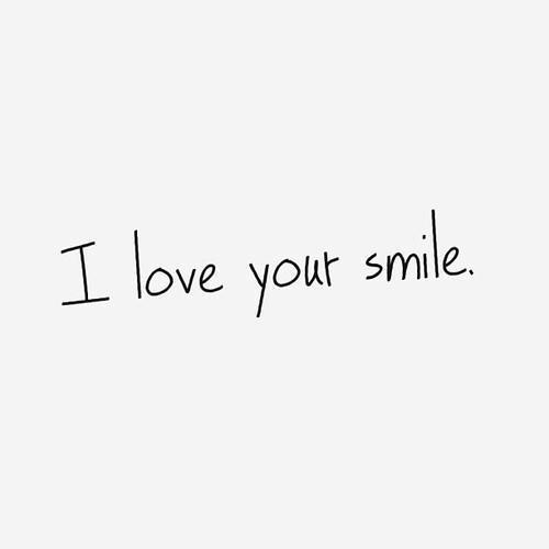 Love Smile And Quotes Image