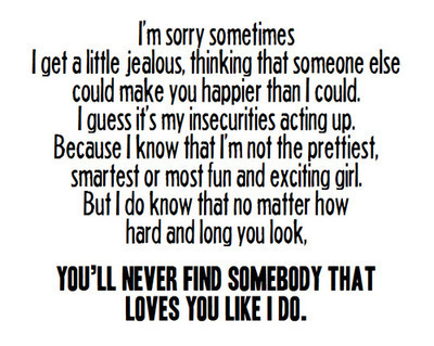 Love Quote And Jealous Image