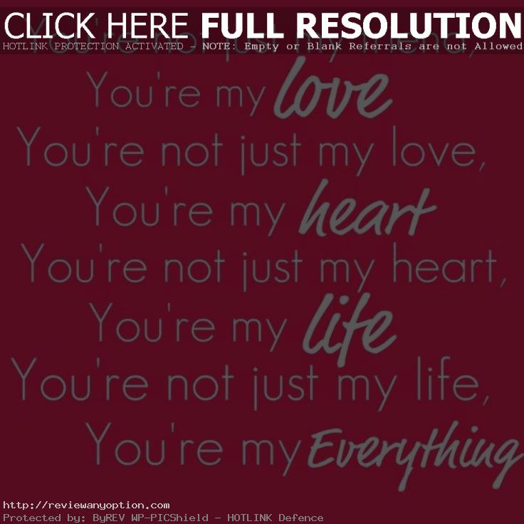 Love Of My Life Quotes For Her Awesome Love Quotes For Her You Are My Love