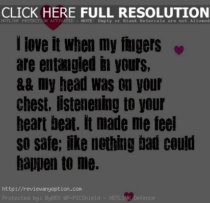 Love Quotes And Saying