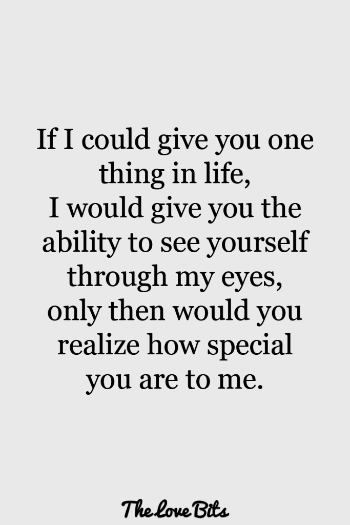 Love Quotes For Her If I Could Give You