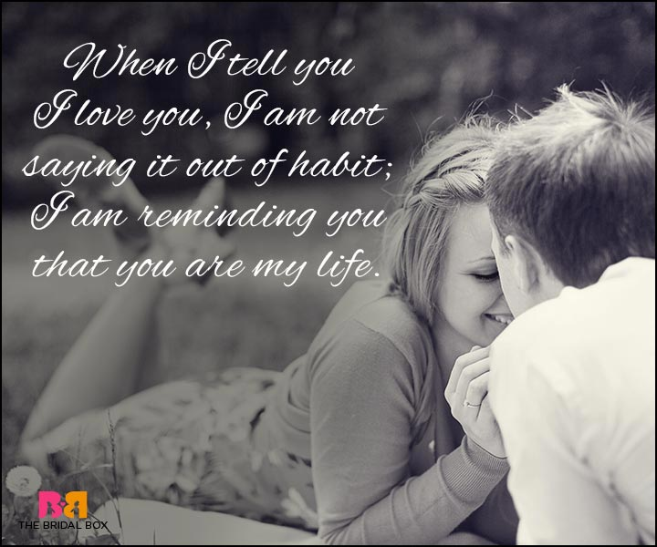 Love Quotes For Wife You Are My Life