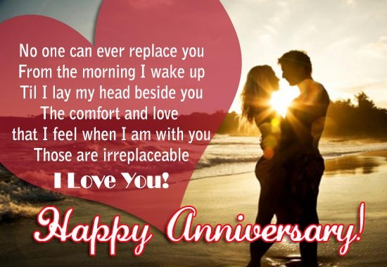 Love Quotes For Wife On Marriage Anniversary Mobile Image
