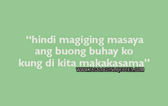 Love Quotes For Your Girlfriend Tagalog Pictures