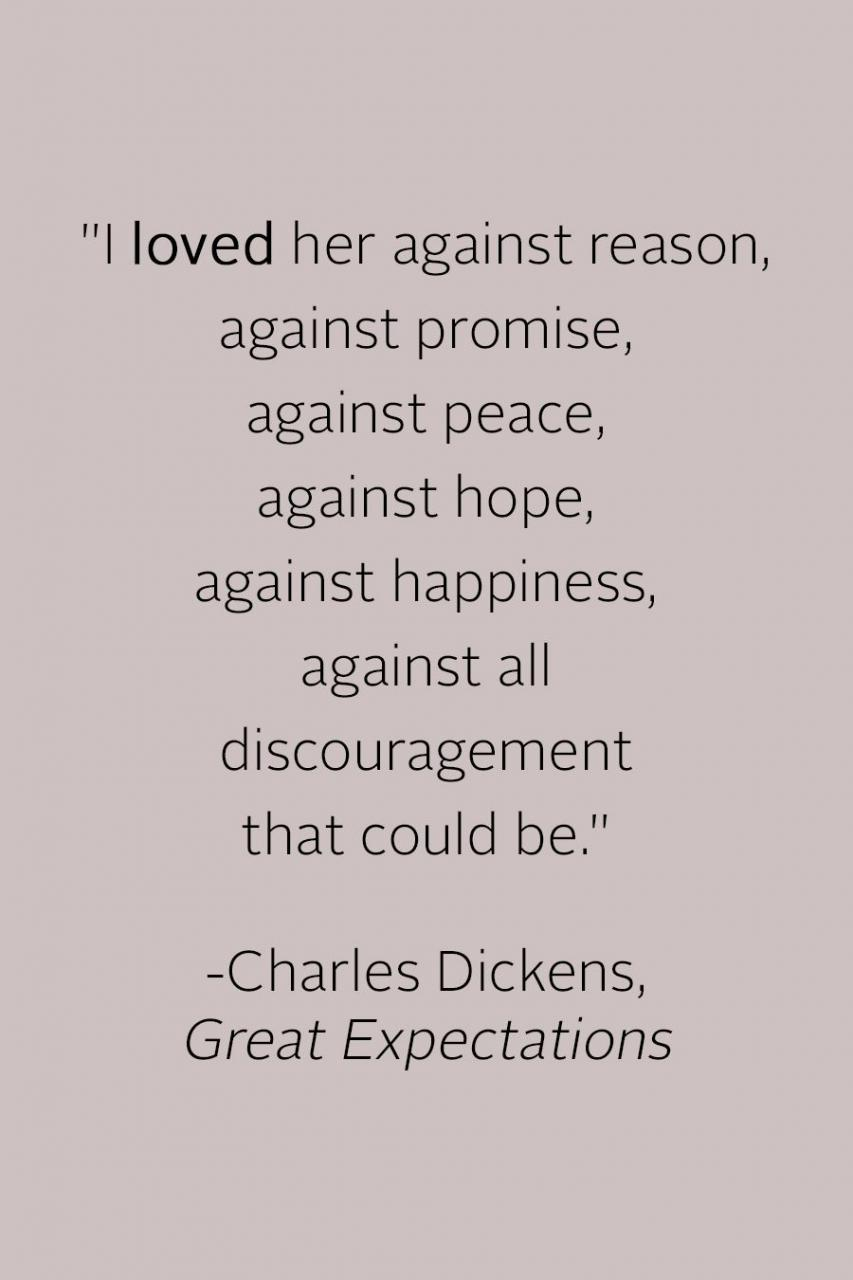 Love Quotes In Literature  Heart Wrenching Love Quotes From Literature Martha Stewart