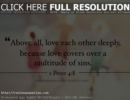 Love Quotes In The Bible Prepossessing  Quotes From The Bible About Love I Love You