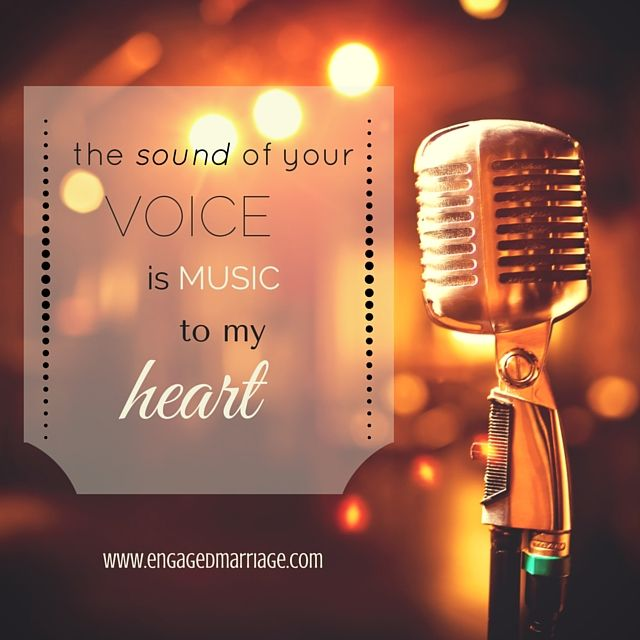 As The Quote Says Description The Sound Of Your Voice