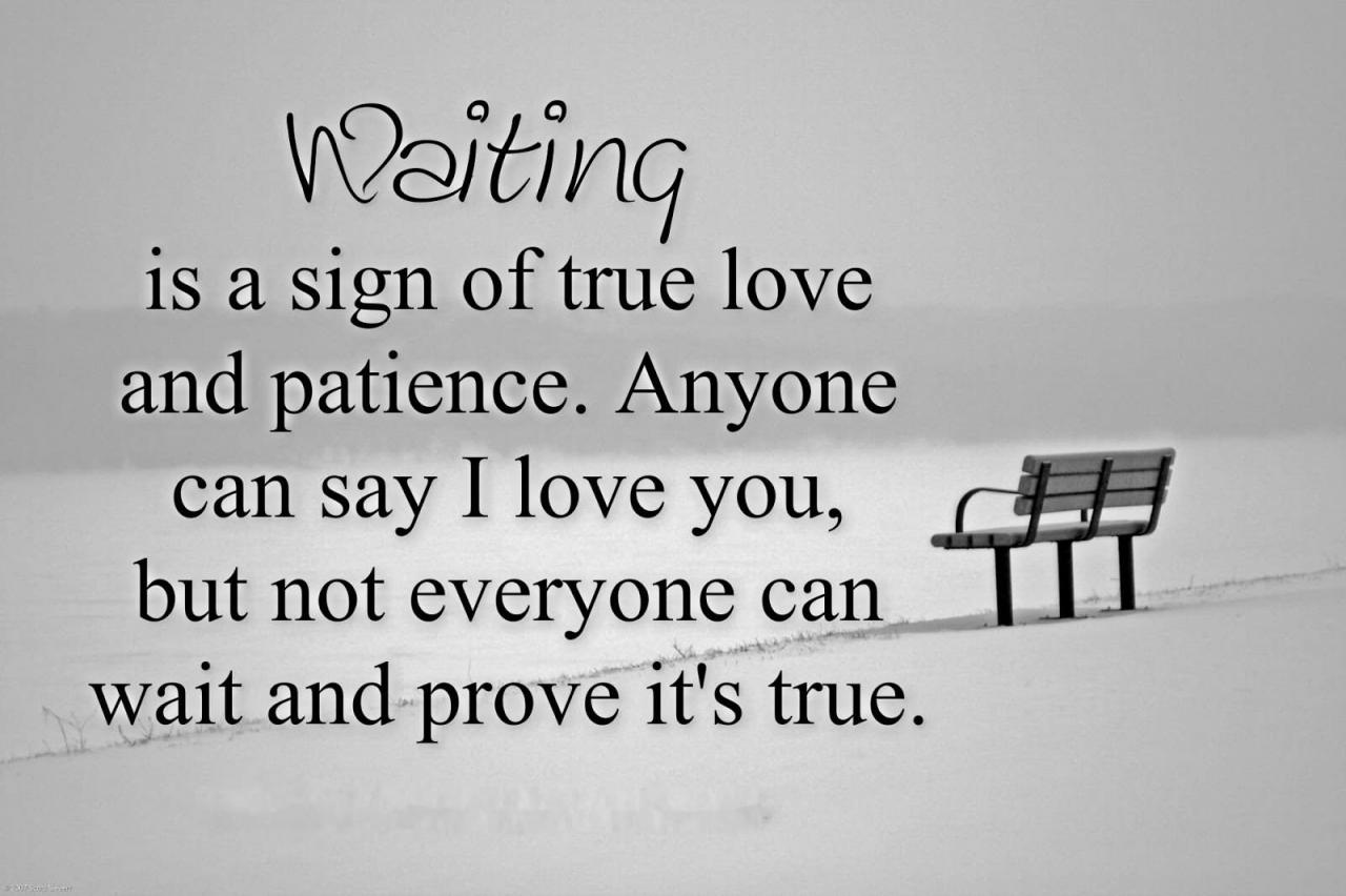 Love Quotes Waiting