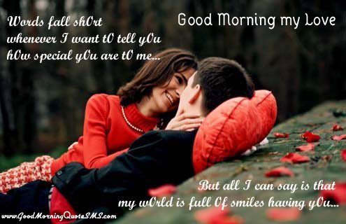 Lovely Good Morning Images With Quotes For Lover Mobile Picture