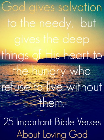 Bible Verses About Loving