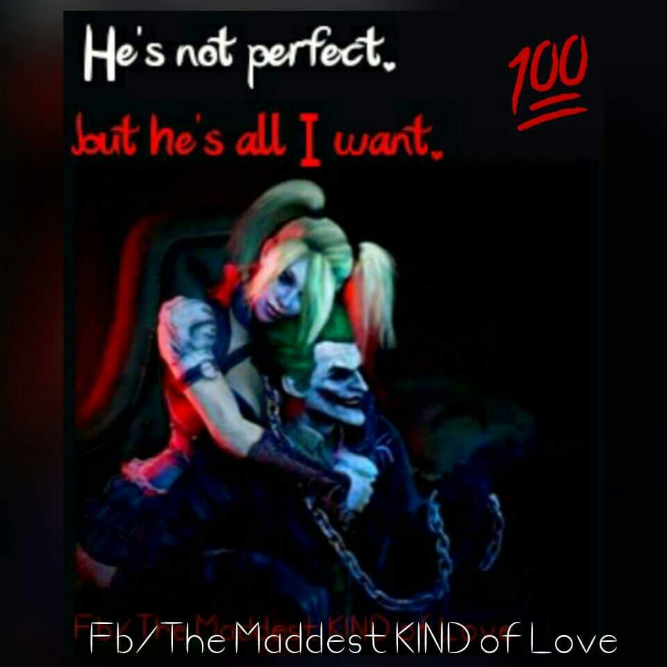 Mad Love Quotes Harley Quinn Joker Harley Mad Love Quotes Pinterest Harley