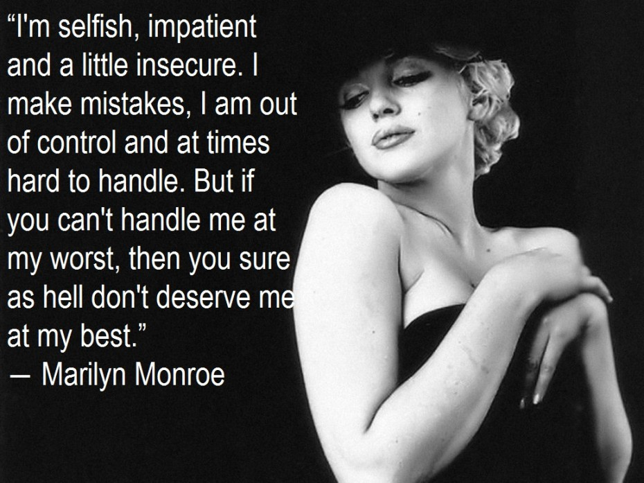 Marilyn Monroe Quotes And Picture The Daily Craic Theme