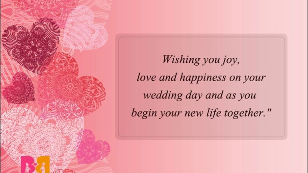 Wedding Wishes Messages And Quotes Congratulations Quotes