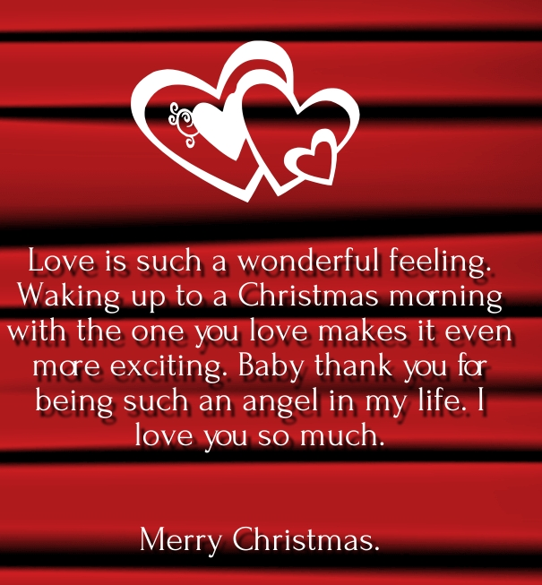 Merry Christmas Love Quotes  For Her