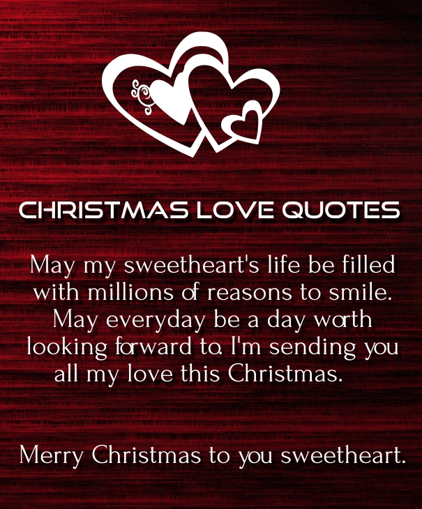 Merry Christmas Love Quotes For Him Boyfriend