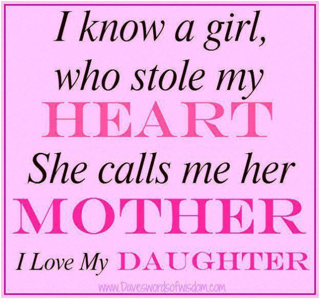 Mother Know I Love My Daughters Quotes Girlss Her Glamorous Stylish Fancy Trendy Luxury Elegant