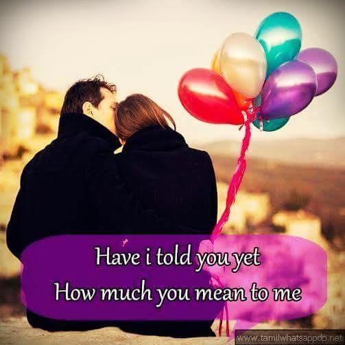 My Love Quotes Whatsapp Dp