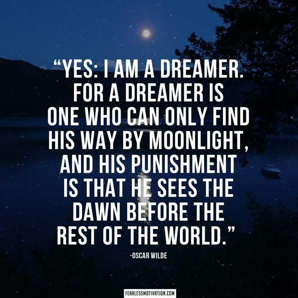 Oscar Wilde Quotes Dreamer