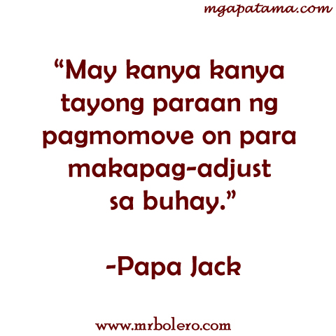 Papa Jack Move On Quotes