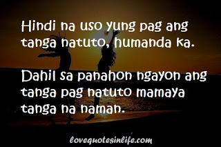 Hugot Quote People Are Became Foolish Wehn It Comes To Love