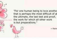 Ultimate Task To Love Someone