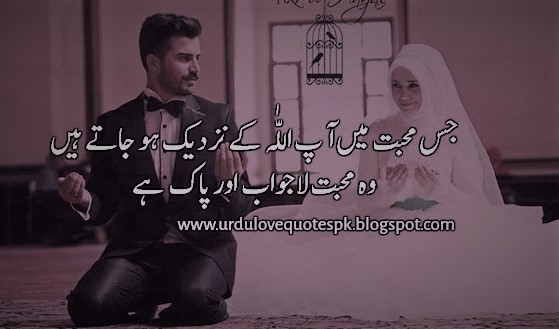 Pak Mohabbat Urdu Love Quotes And Thoughts