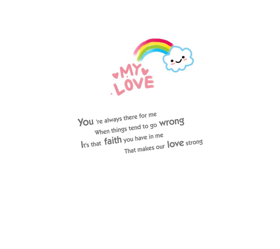 Quotes About Rainbows And Love Love Quote About Rainbow Valentine