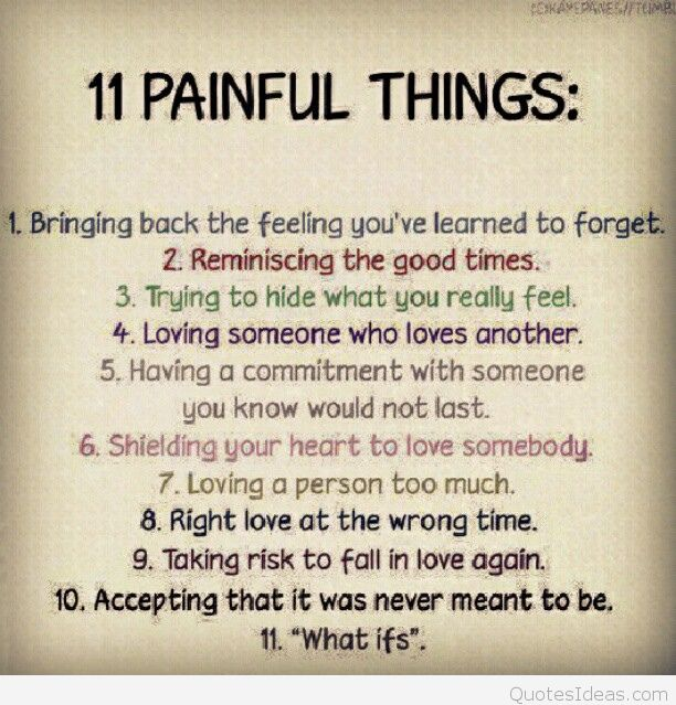 Quotes And Sayings About Love And Painpinquotes Love