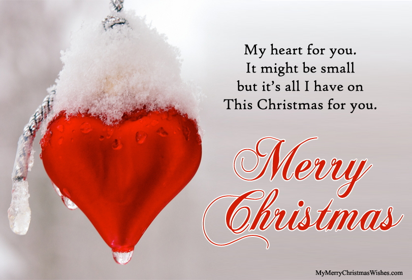 Merry Christmas Love Quotes Image