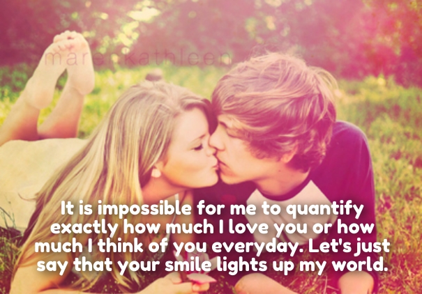 Romantic How Much I Love U Quotes Her Him Cute Love Quotes For