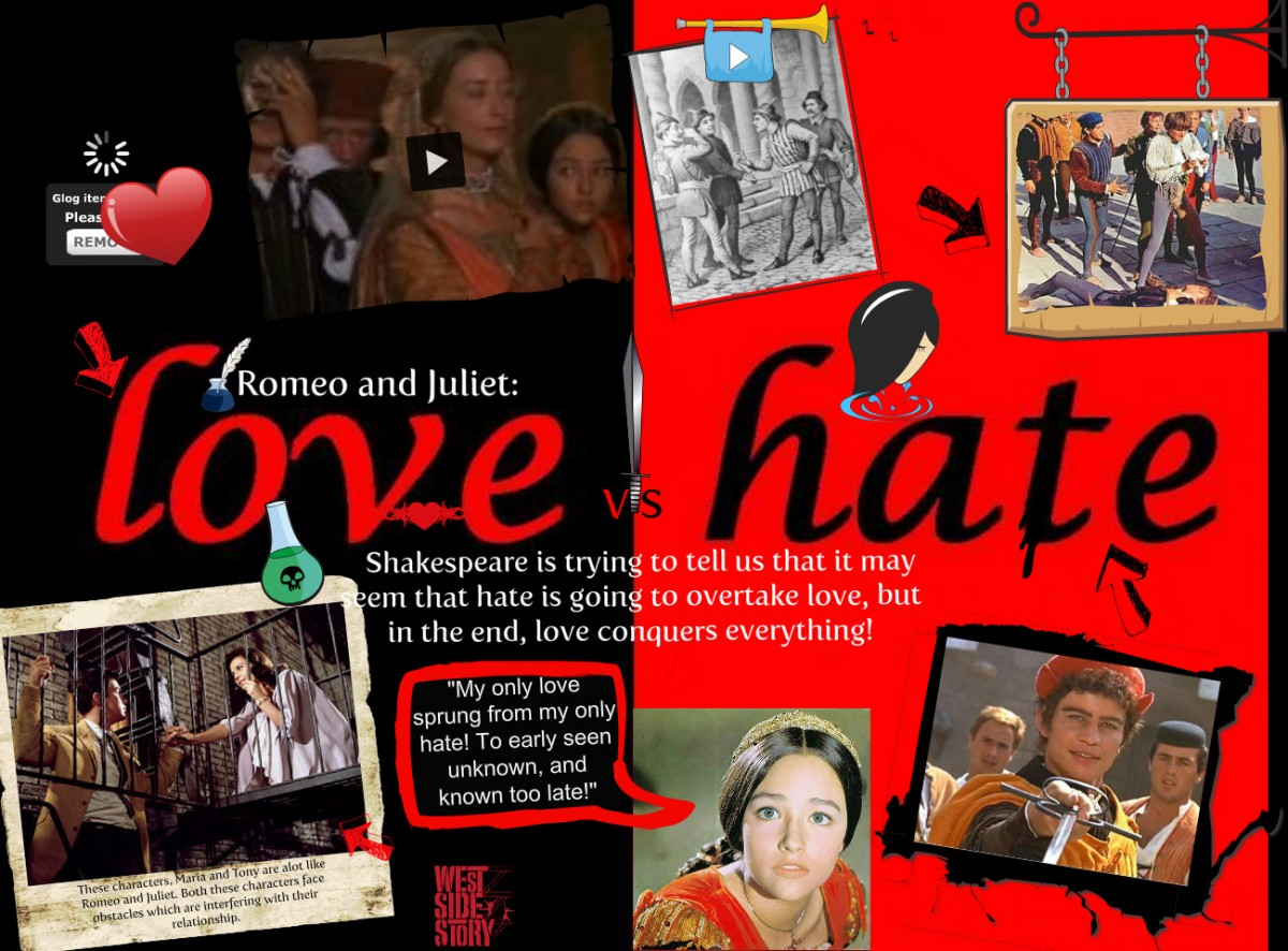 Love And Hate Quotes Romeo And Juliet Hover Me