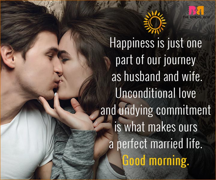 Romantic Morning Quotes For Husband Picture