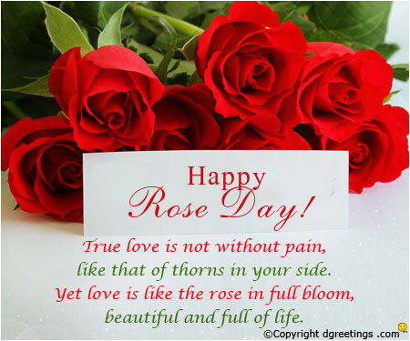 Rose Day Msg For Husband Rose Day Card