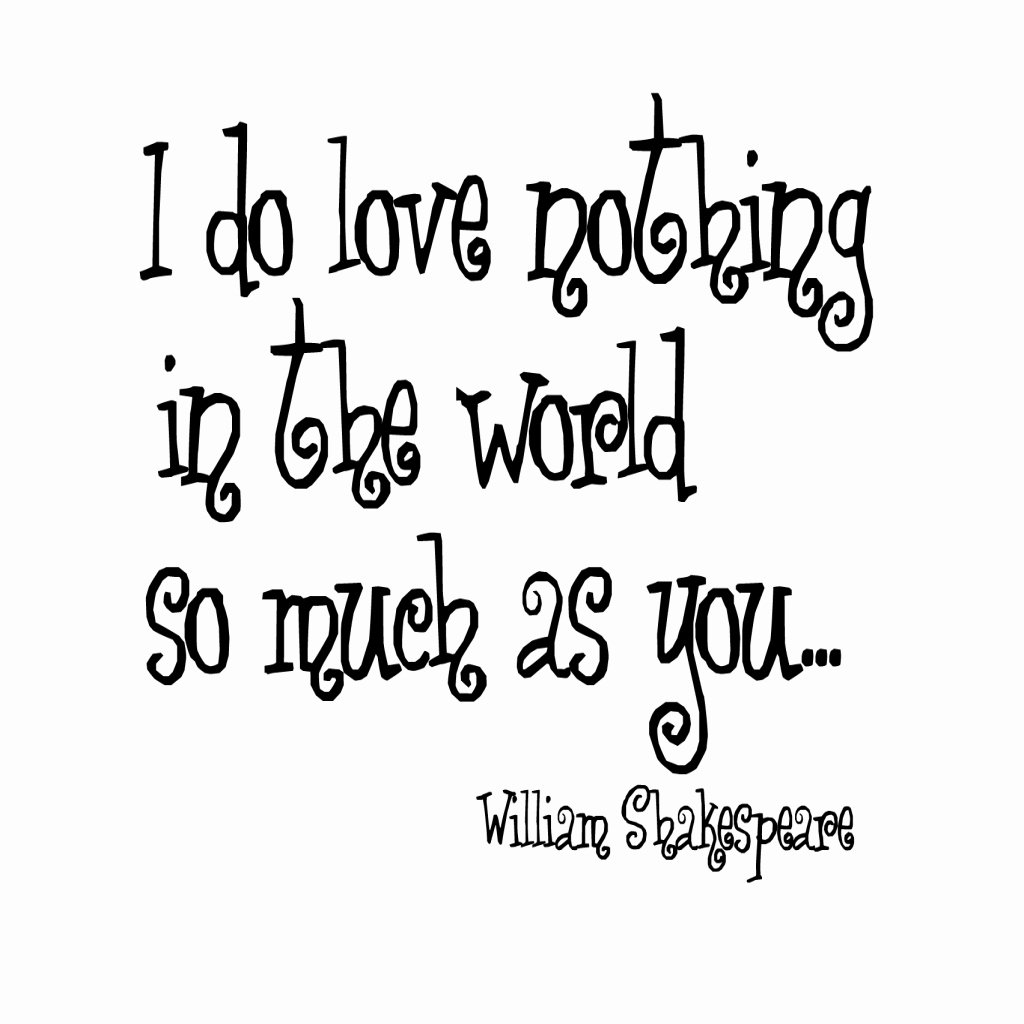 Shakespeare Love Quotes Amazing Shakespeare Love Quotes