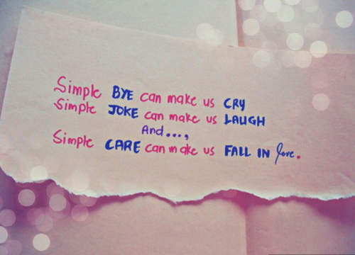 Simple Love Quotes Pictures