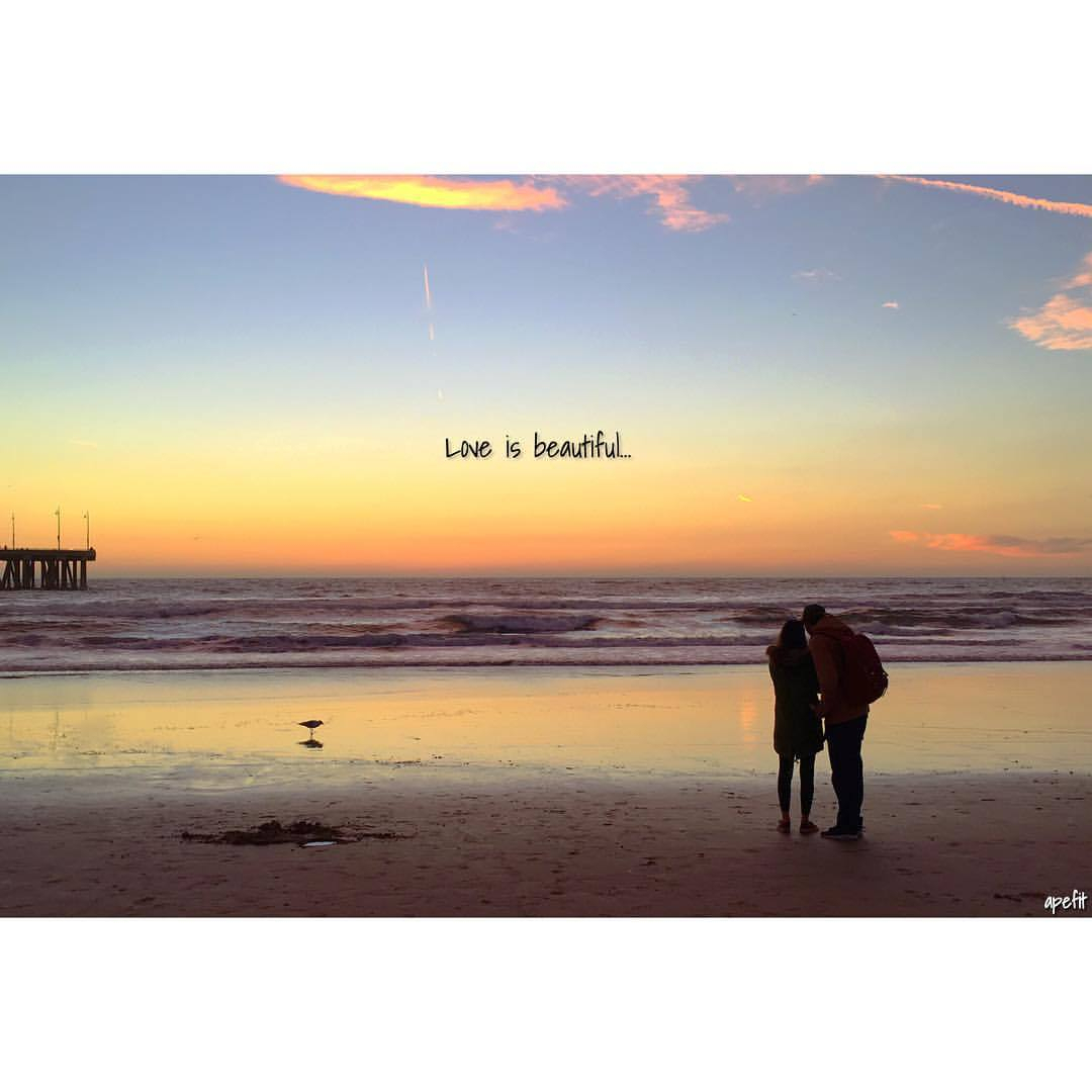 Sunset And Love Quotes Get Apefit With April Love Is Beautiful