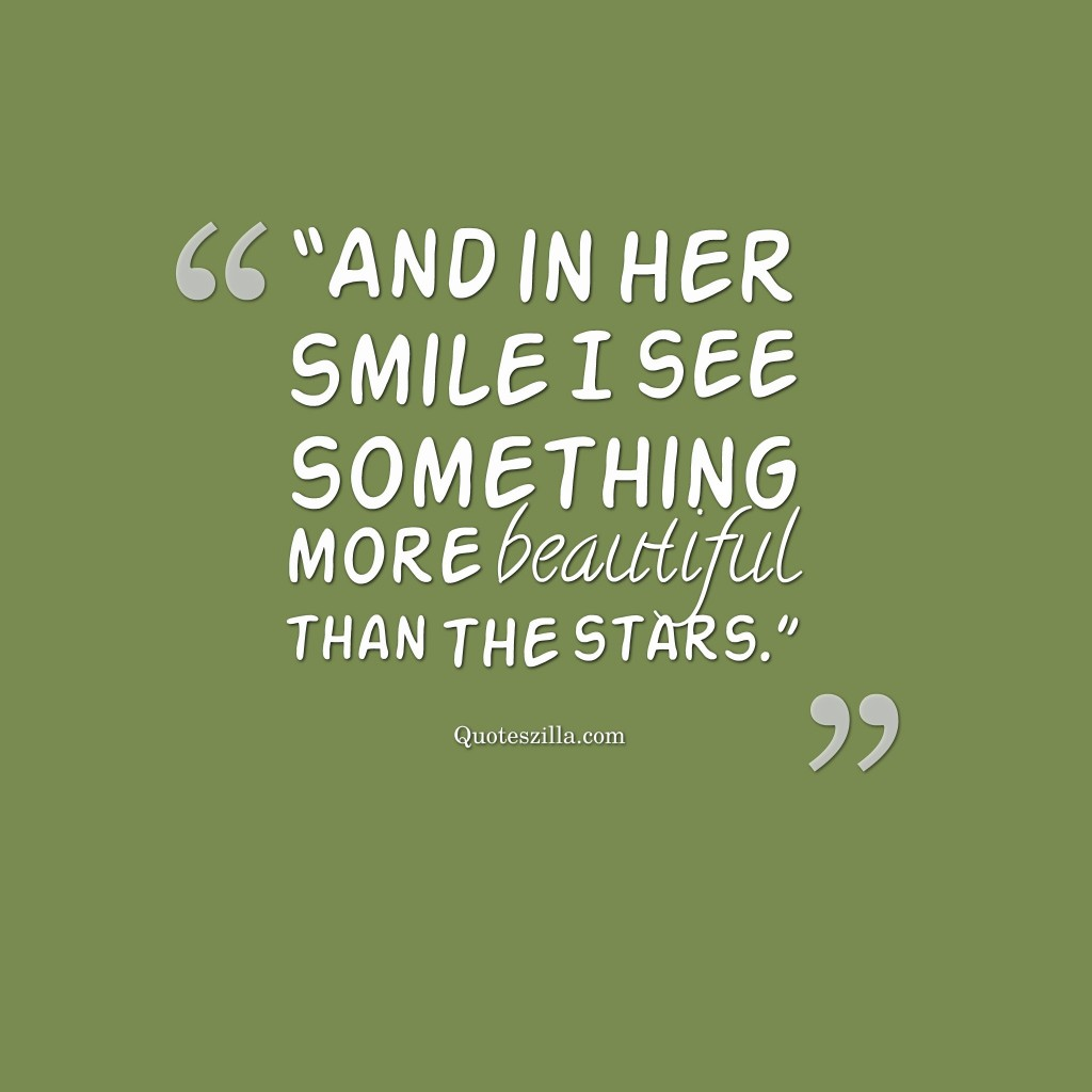 Sweet Quotes For Her Smile P O