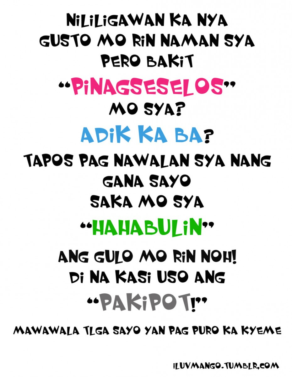 Tagalog Quotes Love Sweet Joke Quotes For Him Tagalog Love Quotes For Him Tagalog Funny