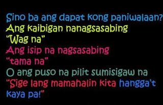 Love Quotes Na Masakit It Hurts
