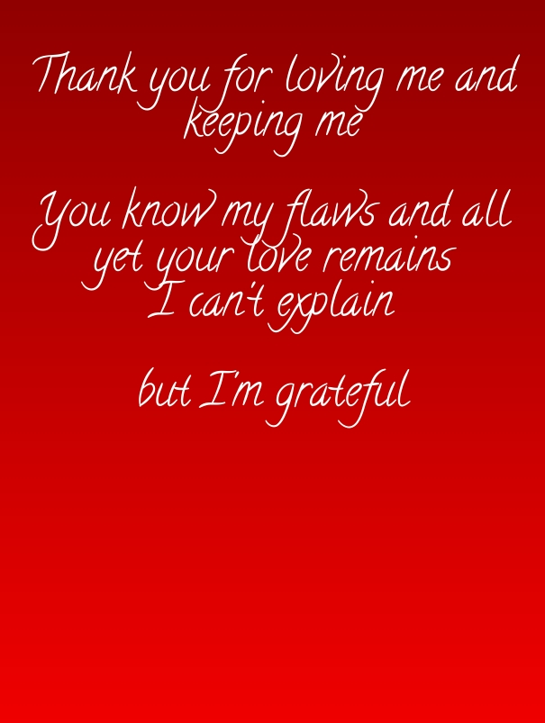 Thanks To Her From The Heart Quote Happy Thanksgiving Love Quote For Her And Him