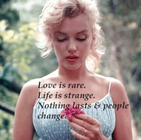 Complex Relationship Love Quote By Marilyn Monroe With Her Pics