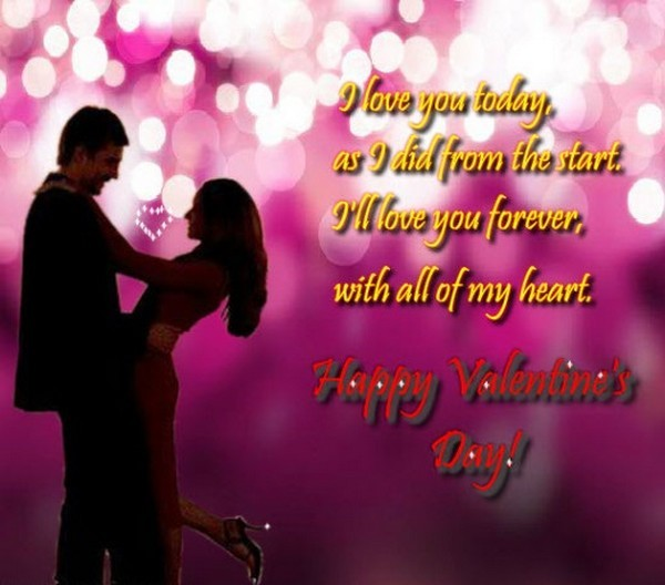Valentines Day Love Quotes For Girlfriend Wallpaper