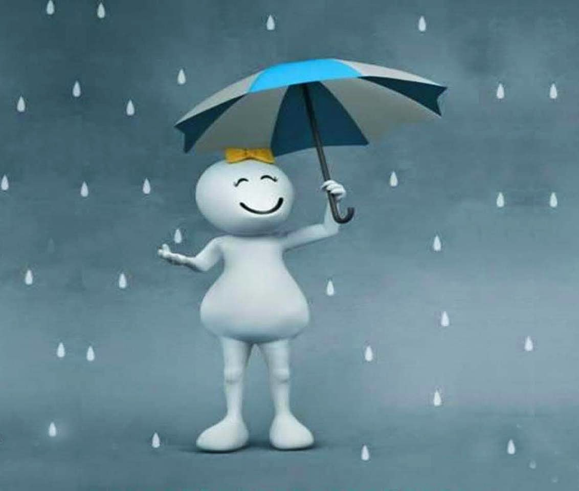 Vodafone Zoozoo In Raining Days Wallpaper