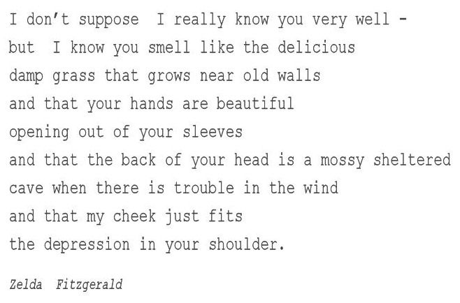 Zelda Fitzgerald Quote