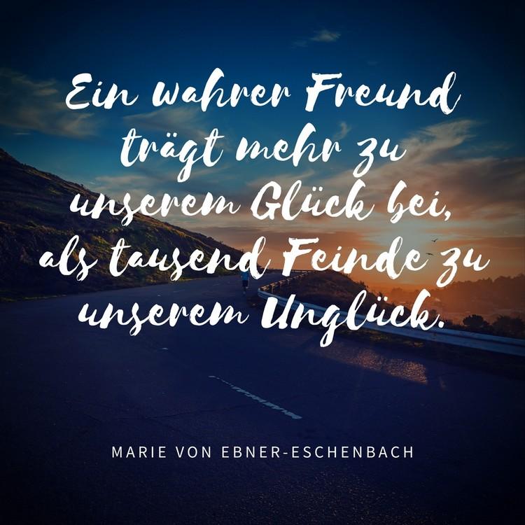Zitate Freundschaft Kurz Wahre Freunde Gluck Zitate Uber