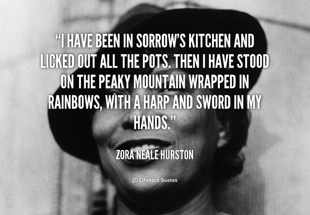 Zora Neale Hurston Quote